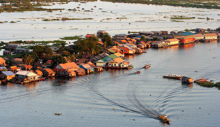 escursione fiume mekong tonle sap
