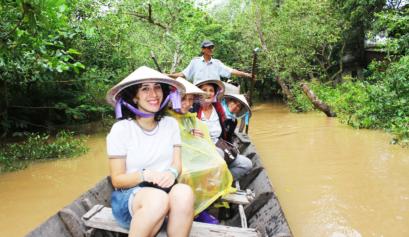 Activities viaggi vietnam viaggi vietnam cambogia da for Jardin du mekong homestay