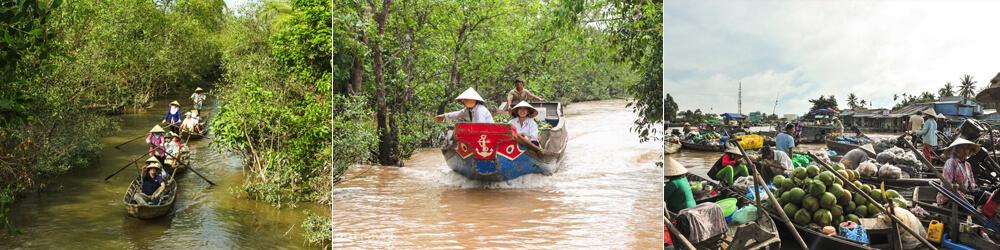 vietnam itinerario Mekong