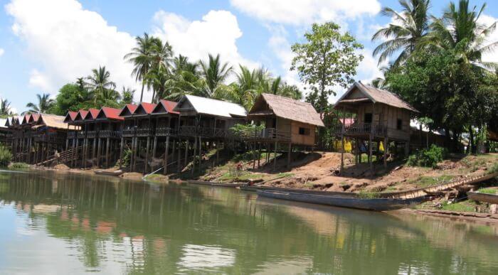 escursione fiume mekong Don Khong Island