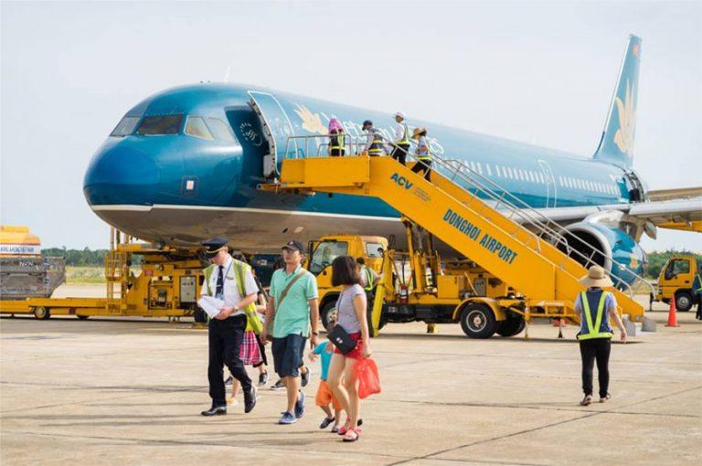 Si può raggiungere Phu Quoc con l'aereo (Foto: Internet)