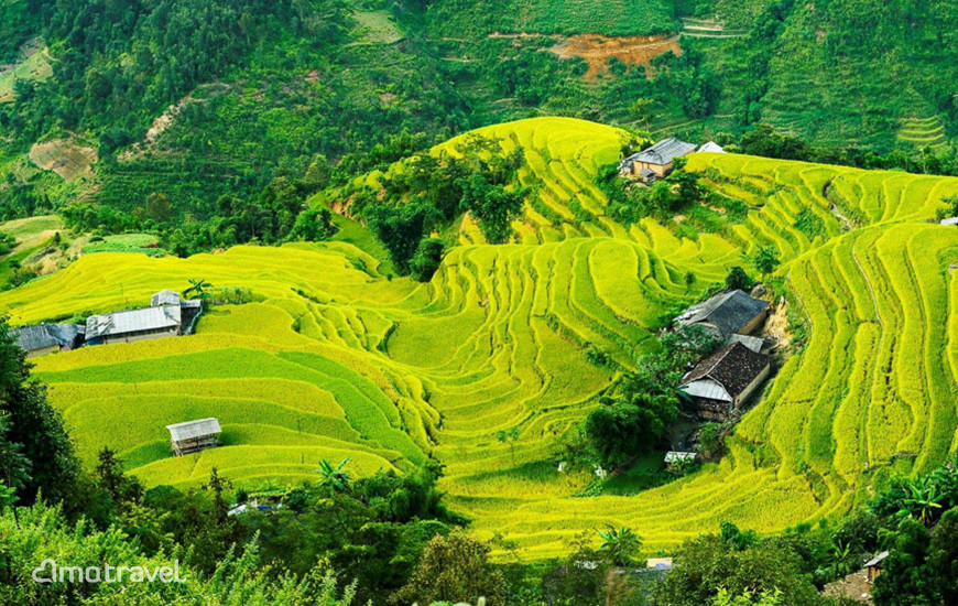 Villaggio Phung a Hoang Su Phi, Ha Giang