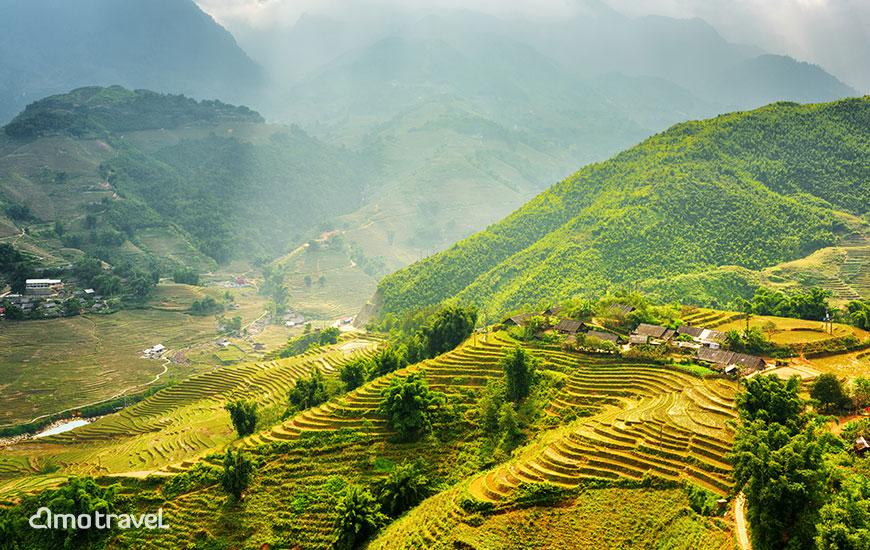 Le terrazze a Sapa Vietnam