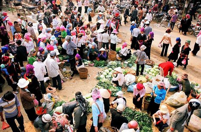 Il mercato Cao Son, Sapa Vietnam